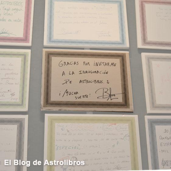 Blue Jeans: el éxito de la literatura juvenil romántica. Libros de amor para adolescentes. Astrolibros. Muro de firmas Astrolibros.