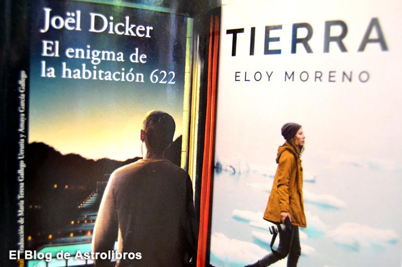 Los mejores libros para leer este verano 2020: Tierra de Eloy moreno y El enigma de la habitación 622 de Joel Dicker