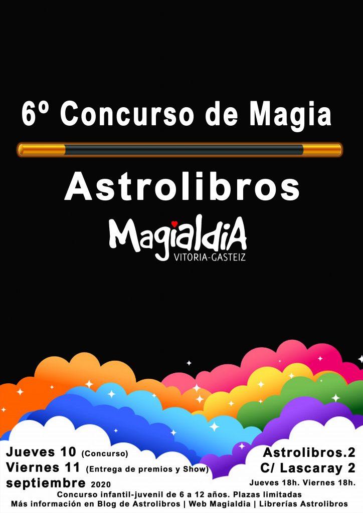 6º Concurso de Magia, junto al festival internacional de magia Magialdia que se celebra en Vitoria-Gasteiz.