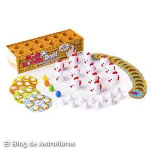 Peek a Doodle Doo | Juego de memoria de las gallinas | Juegos educativos en Astrolibros.com