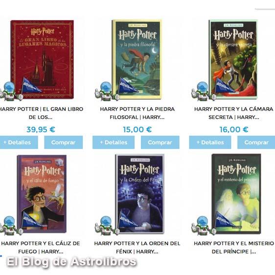 Día Mundial de Harry Potter   31 de Julio   DESCUENTO   Astrolibros