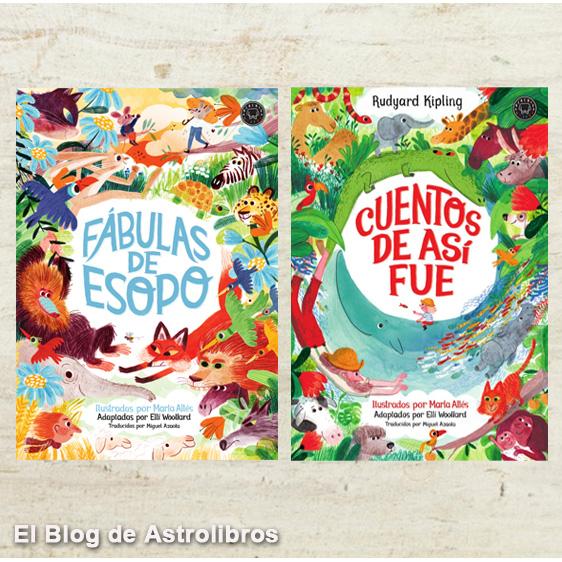 Mejores libros para leer en verano en la tienda online Astrolibros | Fábulas de esopo| Cuentos de fue así| Marta Altés.