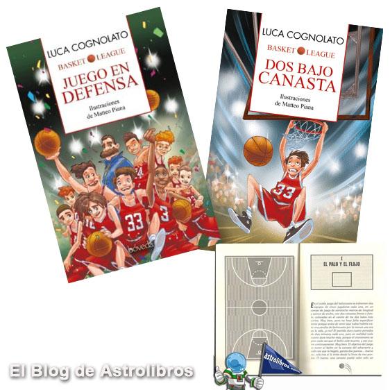 Luca Cognolato | Juego en defensa | Dos bajo canasta | Libro de baloncesto | Astrolibros