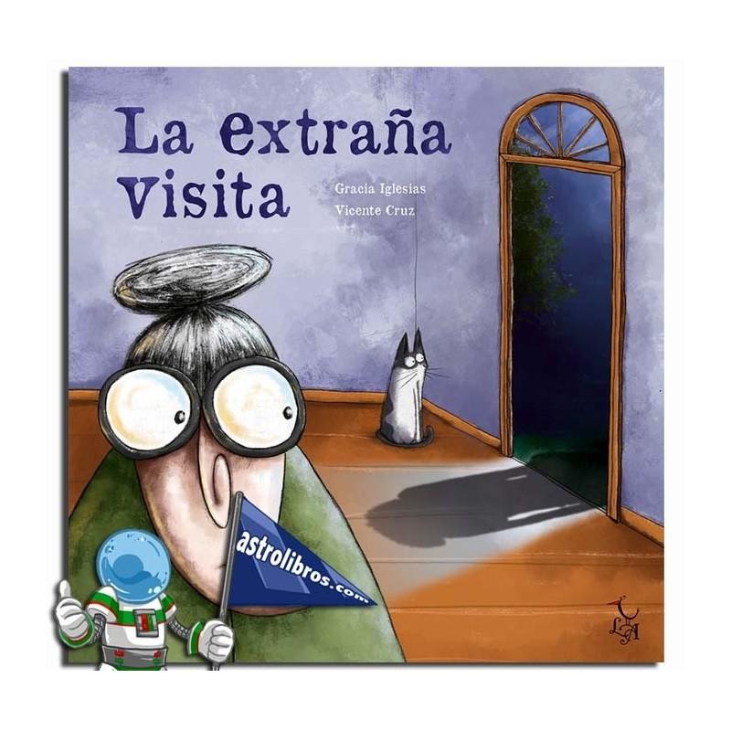 La extraña visita | Cuento ilustrado recomendado a partir de 3 años | Libreria online | Astrolibros vitoria-gasteiz | Libros de halloween