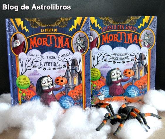 Libros de halloween | Mortina libro de actividades | Astrolibros Vitoria-Gasteiz | Librería online | Librería infantil y juvenil