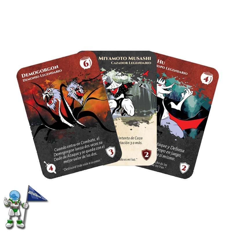 Hunt'em Legends | juego de dados y rol | Personajes de la historia y la literatura | Astrolibros vitoria-gasteiz | Tienda online | Librería infantil y juvenil