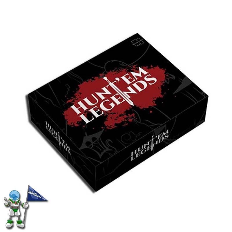 Huntem Legends juego de rol | Juegos de mesa en Astrolibros Vitoria Gasteiz | Librería infantil y juvenil | Librería online