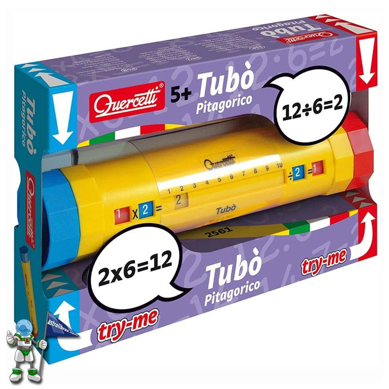 tubo pitagórico | El blog de astrolibros | La mejor fórmula para aprender las tablas de multiplicar | Astrolibros Vitoria-Gasteiz | librería online | Librería infantil y juvenil