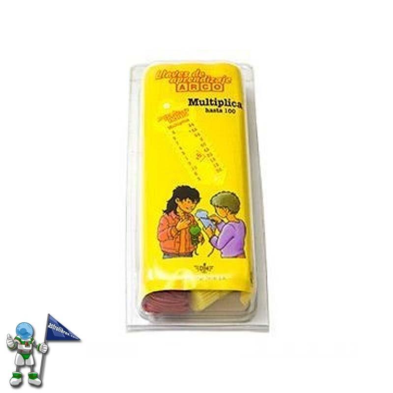 Llaves de aprendizaje mini arco | El blog de astrolibros | La mejor fórmula para aprender las tablas de multiplicar | Astrolibros Vitoria-Gasteiz | librería online | Librería infantil y juvenil