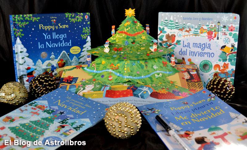 Libros de navidad Usborne | Astrolibros librería infantil Vitoria-gasteiz | Librería online | Recomendaciones de libros navideños para todas las edades