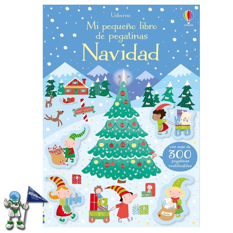 Mi pequeño libro de pegatinas Navidad | Libro de pegatinas Usborne | Libros de navidad Usborne | Astrolibros librería infantil Vitoria-gasteiz | Librería online