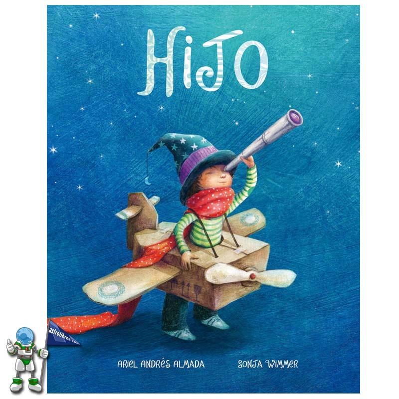 Regalos originales para San Valentín, álbum ilustrado Hijo, Astrolibros librería infantil Vitoria-Gasteiz