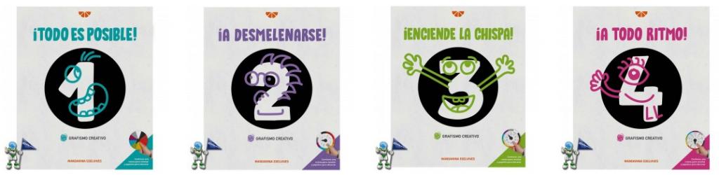 Grafismo creativo Raúl Bermejo, editorial EDELVIVES, cuadernos creativos, grafomotricidad, educación y desarrollo, neuropsicología, @thinksforkids, en librerías infantiles Astrolibros de Vitoria-Gasteiz