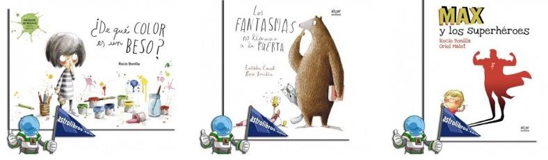 Rocío Bonilla, editorial Algar, cuentos infantiles, Astrolibros librería infantil y juvenil en Vitoria-Gasteiz y tienda online www.astrolibros.com