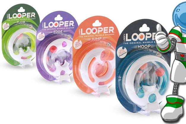 Los LOOPER, los nuevos Spinner para todas las edades, juegos sencillos para reducir la ansiedad, trabajar la concentración y practicar las habilidades manuales en todas las edades