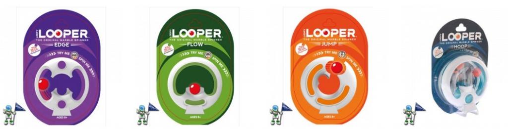 Looper spinner, juego de concentración para calmar la ansiedad