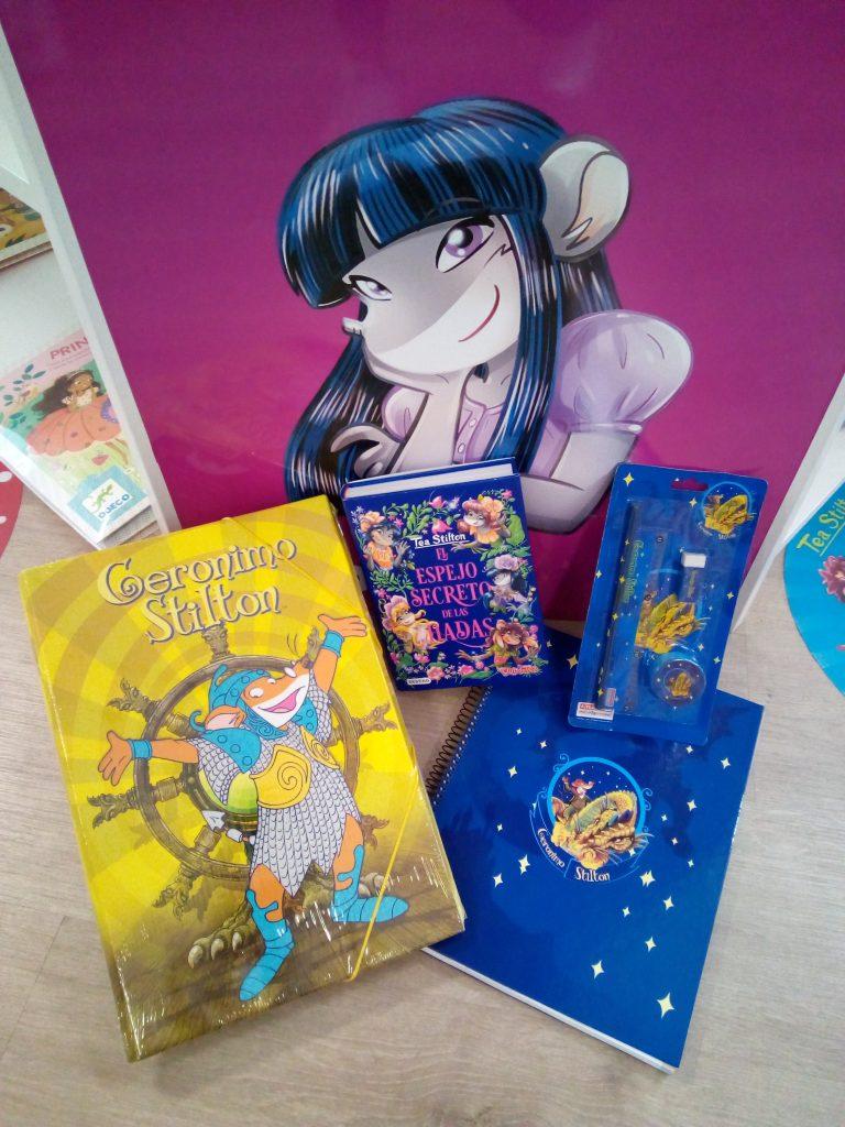 Sorteo gerónimo stilton y tea stilton, Astrolibros librería especializada en Vitoria